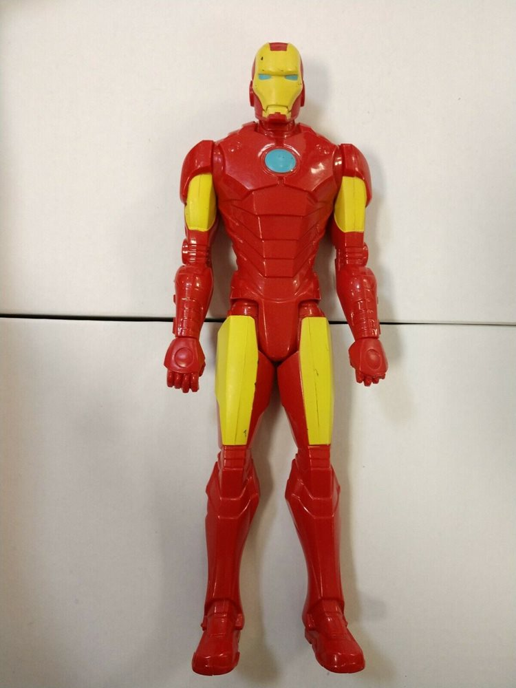 MARVEL AVENGERS Titan Hero Series Iron Man Figurine HASBRO B1667 BRAND NEW