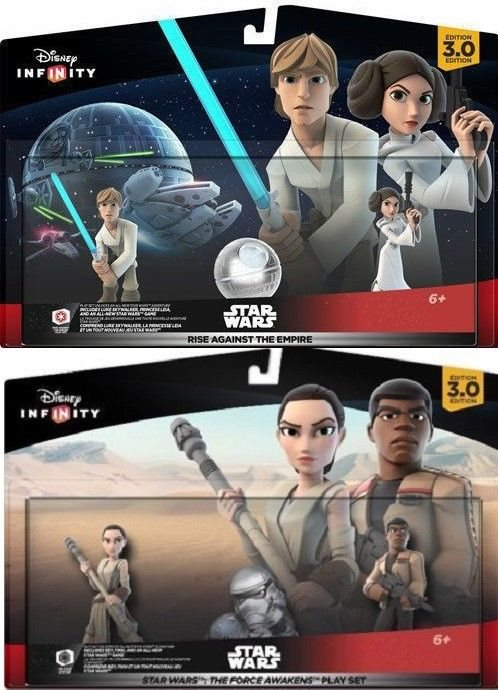 New Disney Infinity 3 0 Star Wars Rise Against The Empire Force Awakens Playsets