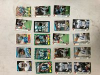 Lot of 19 Assorted NFL Football Detroit Lions Cards Various Years & Players
