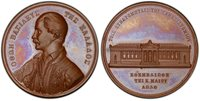 GREECE Otto I (1839) ND AE Medal. PCGS SP65 Wurzbach-7024. Univ. of Athens.
