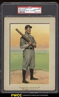 1911 T3 Turkey Red Nap Lajoie CHECKLIST BACK #23 PSA Auth, Altered (PWCC)