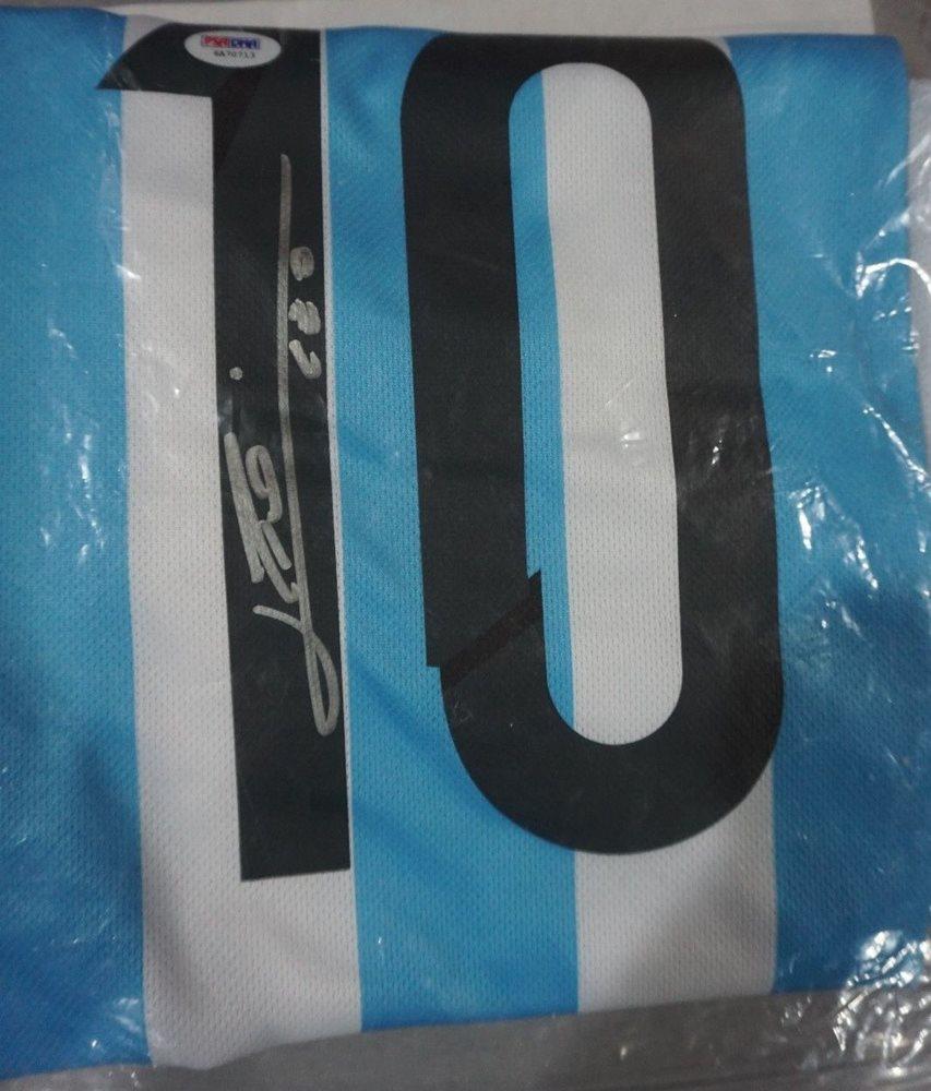 Lionel Messi Signed Adidas Argentina Auto Soccer Futbol 96665378846c7