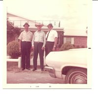 WHITE COUNTY, TENNESSEE, Leslie Cumby,Joe Pippin, Doug Goodwin 1969 Photo