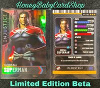 Injustice Arcade Series 1 OOP Card 87 Godfall Superman Ultra Rare