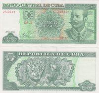 Cuba 5 Pesos 2016 Maceo Pick#116c Unc