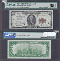 Fr#1890-D $100 1929 D00167055A 65EPQ Gem Cleveland