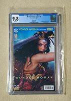 Wonder Woman Special #1 CGC 9.8 German Edition Gal Gadot Photo Cover 2017
