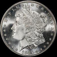 1881-S $1 MS68 PCGS