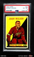 1958 Topps #22 Johnny Wilson Red Wings PSA 6 - EX/MT