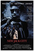 """New Jack City (1991) Style-A Wesley Snipes Chris Rock Ice-T Movie Poster 27x40"""""""