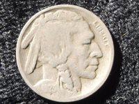 1925 Buffalo Nickel, G-4, Indian Head, Nickel, 1925 Nickel, epsteam, old nickel, old coin, old money, old medal, token, u s money,