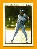 Shoeless Joe Jackson 1916 Traded Monarch Corona Reprint Baseball Card