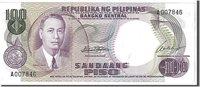 100 Piso 1969 Philippinen Banknote, Km:147a