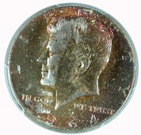 1964 50C Kennedy Half Dollar PCGS MS 65