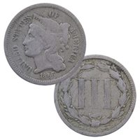 Three Cent Nickel - Cull Condition