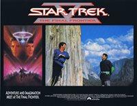 STAR TREK V THE FINAL FRONTIER Lobby Card 4 William Shatner Leonard Nimoy Science Fiction
