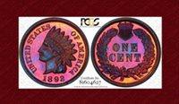 1892 Indian Cent PR65RB PCGS