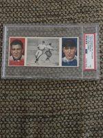 1912 T202 Hassan Triple Folders L.Doyle/F.Merkle -Easy For Larry -PSA 3
