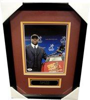 16306c3d0 Reggie Bush Hand Signed Autographed 8x10 Photo USC Heisman Custom Frame PSA  DNA