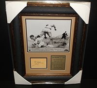 TY COBB Autographed Cut Signature Facsimile Reprint DELUXE Framed 8x10 Photo