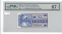 MPC Series 661 10 cents REPLACEMENT PMG 67EPQ SUPERB GEM UNC