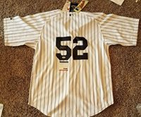 C. C. Sabathia Autographed Signed New York Yankees All-star Pitcher Pinstripe Jersey -PSA/DNACUSTOM FRAME YOUR JERSEY
