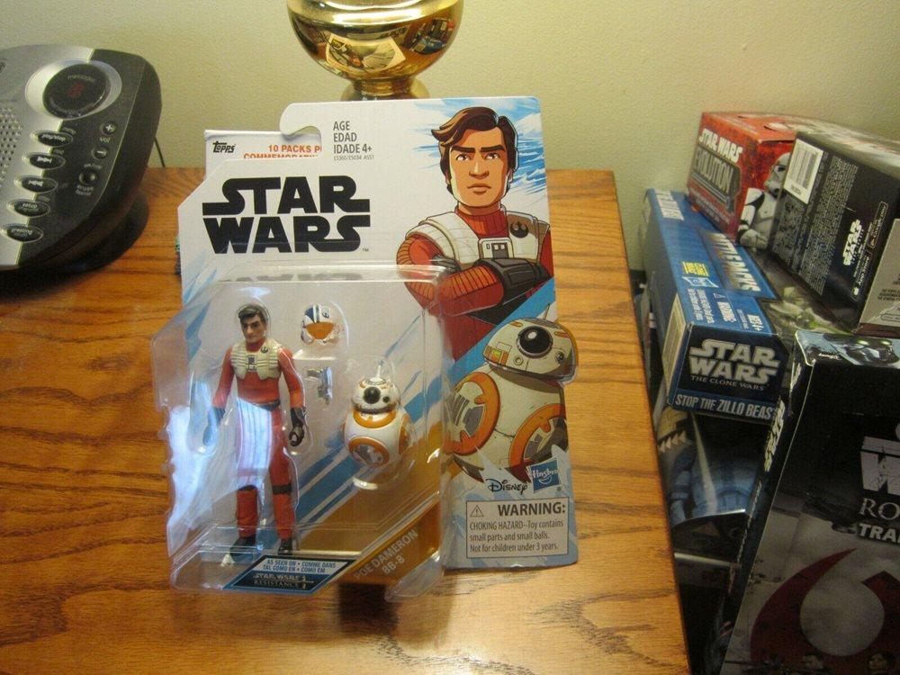 Star Wars Resistance Poe Dameron /& BB-8 2 Pack Action Figure Set BNIB #NG