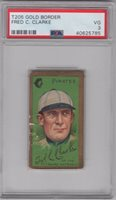 1911 T-205 Hall of Fame Fred Clarke PSA 3