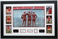 George Best, Bobby Charlton & Dennis Law