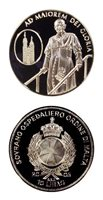 Malta Life Of Pope John Paul II Proof Crown Arrival Of The Pope In Poland 10 Lir
