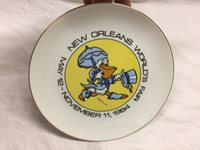 1984 New Orlean's World's Fair Plate - S#D2****