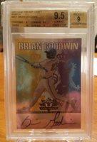 2011 Leaf Valiant draft purple Brian Goodwin bgs 9.5 RC auto /25