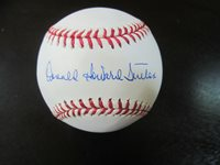 Don Sutton Autograph Signed Baseball Ball JSA (B2) Los Angeles Dodgers Full Name