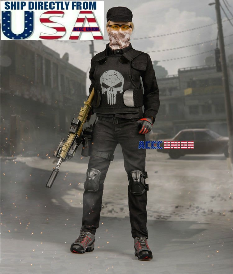 """1//6 Tactical Camouflage Combat Clothing Set A For 12/"""" Phicen Hot Toys Figure USA"""