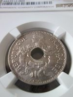 French Indochina 5 Cents 1925 NGC MS 65