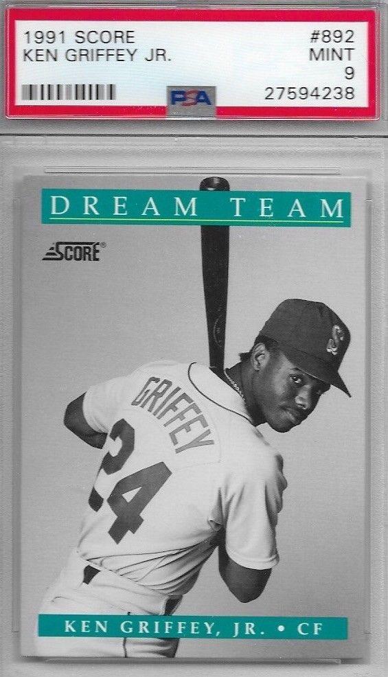 buy popular 46f4c e3d9c eBay Auction Item 253134998144 Baseball Cards 1991 Score