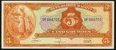 Haiti P-192a5 Gourdes 1919 (1967)Price: $20.00
