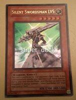 YuGiOh Silent Swordsman LV5 1st Ed Ultra FET-EN008 NM/M