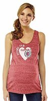 NEW NBA Los Angeles Clippers Women's Maternity Shadow Tank Top Red Medium M