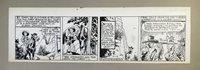 Broncho Bill Daily 7-6-45, Original art Harry O'Neill