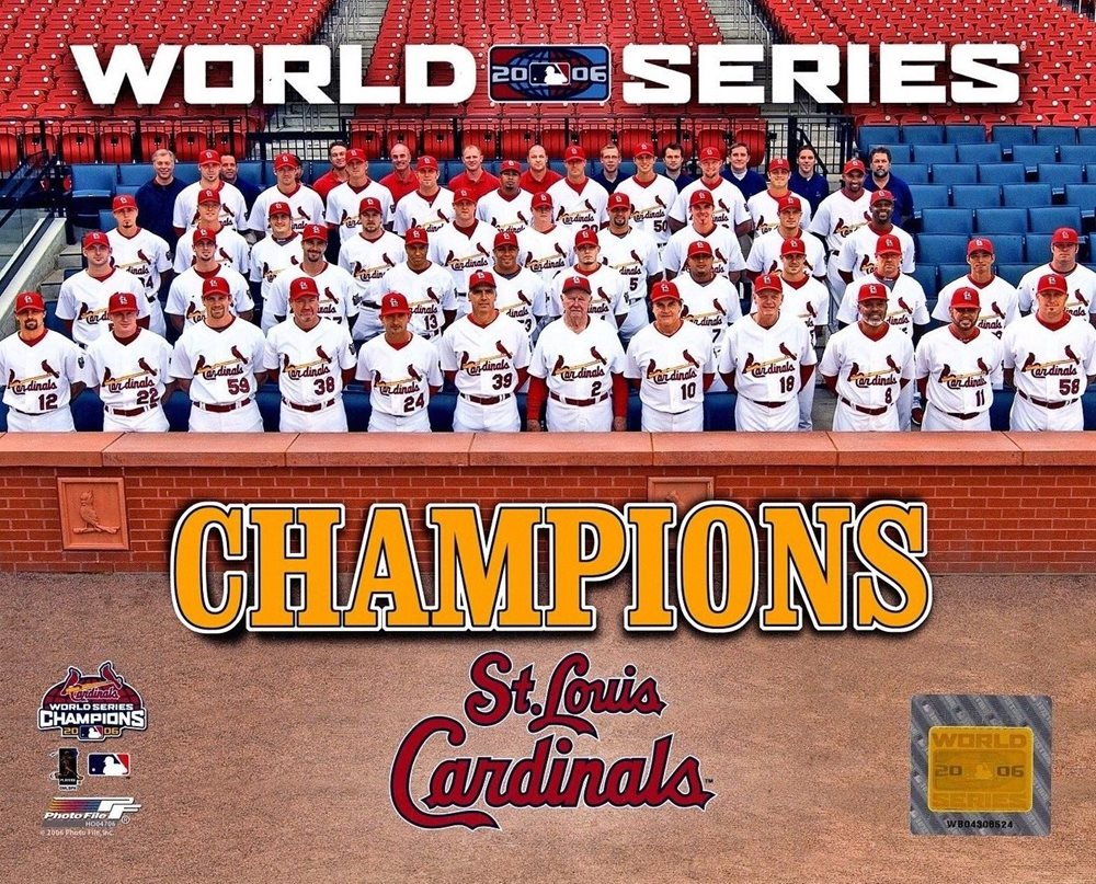 2006 World Series Champions Licensed 8x10 Glossy Photo A4 Click To Enlarge