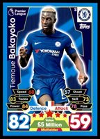364 Match Attax 2016-2017 Pedro Chelsea Away Kit no