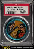 1966 Batman Coin The Catwoman's Claws Will Soon Cut #18 PSA 8 NM-MT (PWCC)