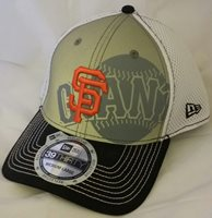 NWT NEW ERA San Francisco GIANTS 39THIRTY Medium-Large fitted baseball cap hat
