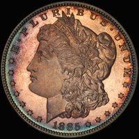 1885 $1 PR66CAM PCGS