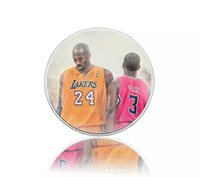 The Forever Basketball Star Kobe Bryant 999.9 Silver Plated Commemorative Coin
