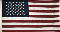 "American Flag Large 34 1/2"" X 57"" Patriotic Americana Stars and Stripes"