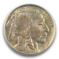 1931-S 5C Buffalo Nickel PCGS MS66