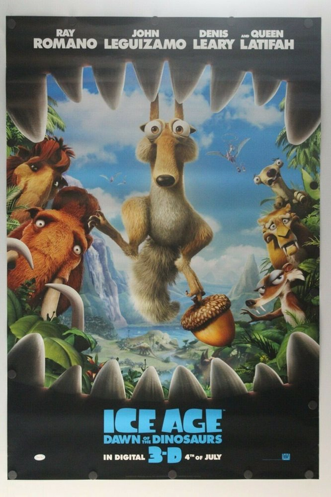 Ice Age Dawn Of The Dinosaurs 2009 Ds Original Movie P