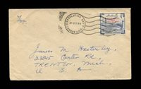 PAKISTAN 1959 REVOLUTION DAY COVER TO THE U.S., fine-very fine (Photo) (Scan1) (All Scans)